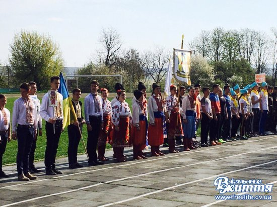 Військово-патріотична гра «Сокіл» («Джура») пройшла у Кіцмані