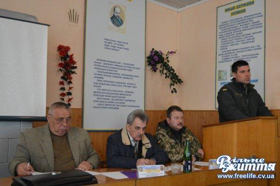 У Кіцманському ОРВК відбулася нарада з підведення підсумків військових призовів