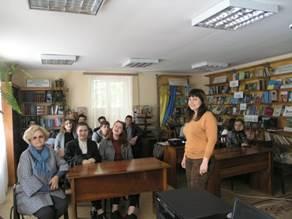 Чернівецька обласна служба зайнятості запровадила проект «Книгозбірня – профорієнтаційний майданчик для молоді»