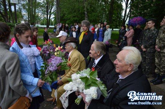 Війна нагадує про себе знову… 9 травня урочистості відбулися в Кіцмані