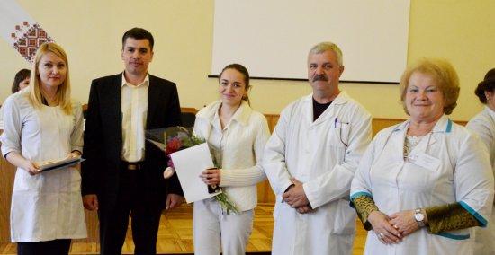 Медсестри Кіцманського району приймали вітання з нагоди професійного свята