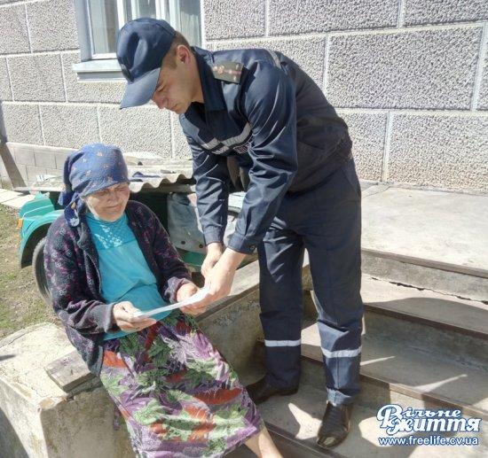 Пожежники активно проводять профілактичну роботу на території Кіцманського району