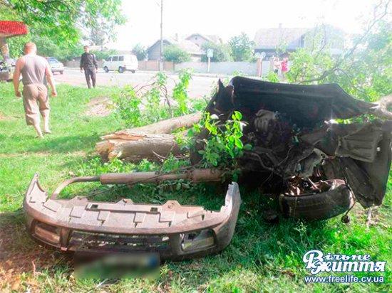 Після ДТП в Лашківці Кіцманського району поліцейські вилучили з авто амфетамін