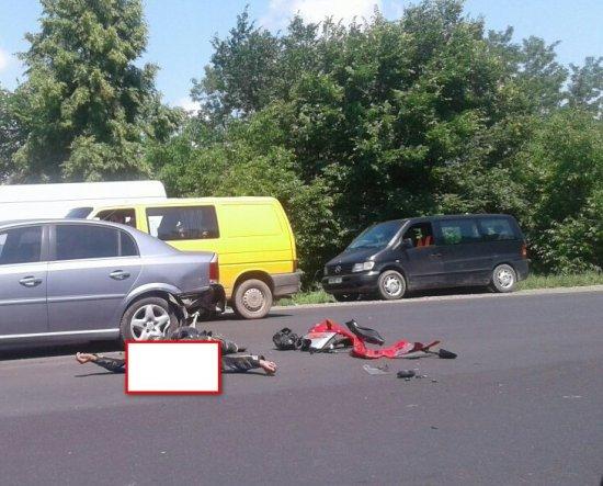Жахлива аварія сталася на трасі поблизу Нового Киселева