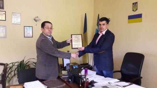 Кіцманська ЦРЛ отримала сертифікат на систему управління якістю