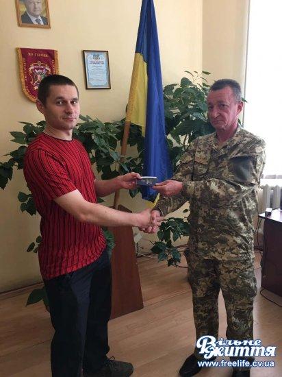 Офіцер запасу з Кіцманщини пішов служити в Одесу