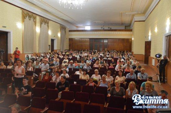 Урочистості і нагородження з нагоди Дня Конституції відбулися в Кіцмані