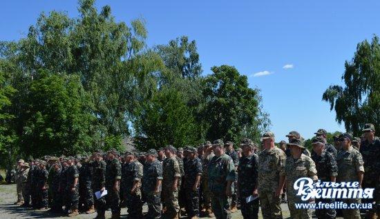 Розпочались навчання роти оборони Кіцманського району на полігоні