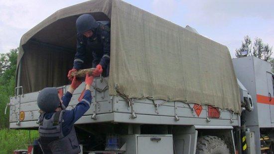 На Кіцманщині піротехніки знищили артснаряд часів І Світової війни