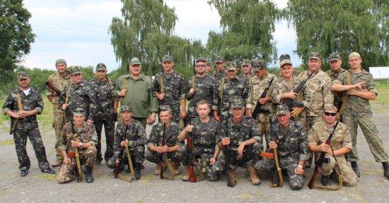 На Буковині в польових умовах триває активна фаза навчань з територіальної оборони (ВІДЕО)