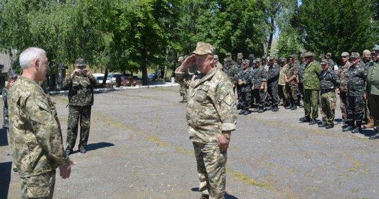Завершились навчання з територіальної оборони роти з Кіцманського району