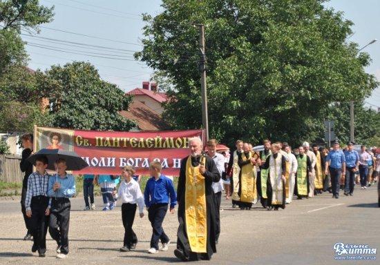 Відбудеться хресний хід до Свято-Пантелеймонівського монастиря в Шипинцях