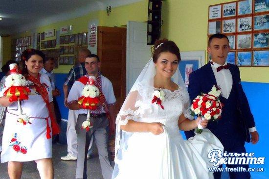 Урочисту реєстрацію шлюбу провели у Драчинецькому будинку культури