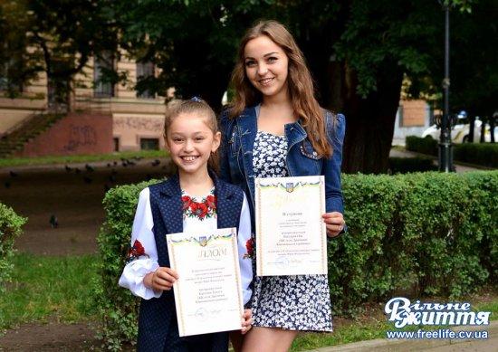 Юні читці-декламатори з Драчинців — лауреати премії ім.Ю.Федьковича