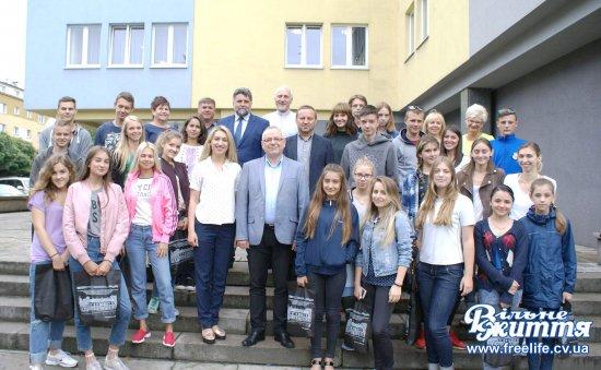 Молодь з Кіцманщини відпочивала в Польщі