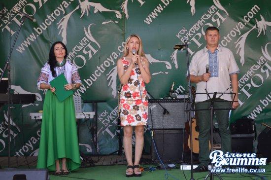 """На Кіцманщині відбувся Всеукраїнський фестиваль християнської музики """"Народжені славити"""""""