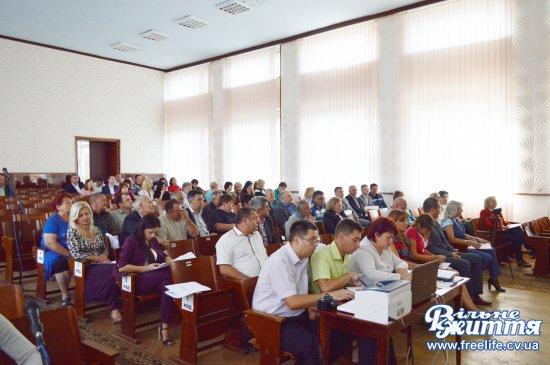 Нотатки з сесії Кіцманської районної ради: про фінанси і не тільки