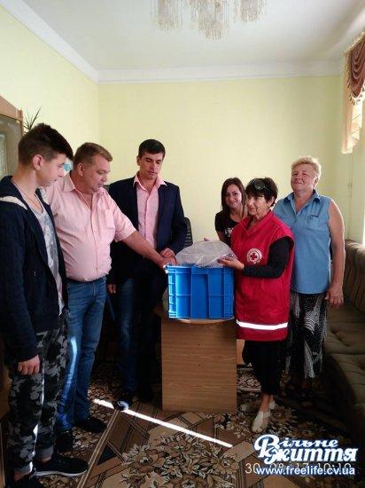Подарунки передали сім'ям загиблих учасників АТО Кіцманщини