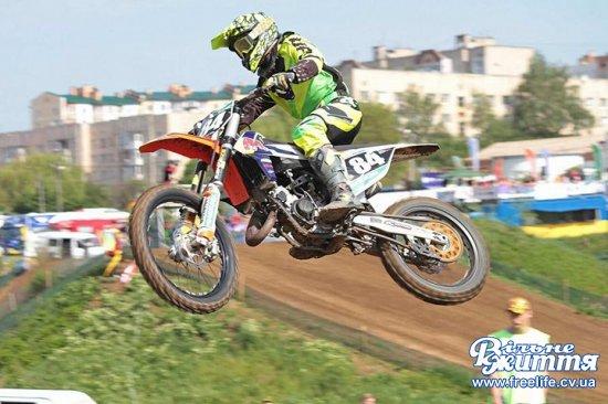 Чемпіон України з мотокросу Максим Купіна готується до нових змагань