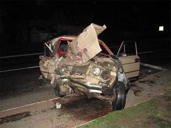 Інформація поліції про нічне ДТП в Мамаївцях