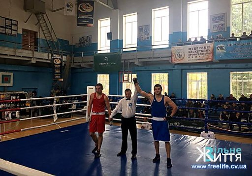 Боксер Степан Грекул із Шипинців чемпіон України серед чоловіків віком до 22 років
