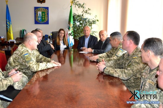 Комісія Генерального штабу Збройних Сил України сьогодні була з перевіркою на Кіцманщині