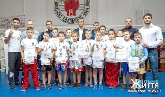 Спортсмени МСК «Кіцмань» успішно виступили на Кубку Західного регіону з кікбоксингу