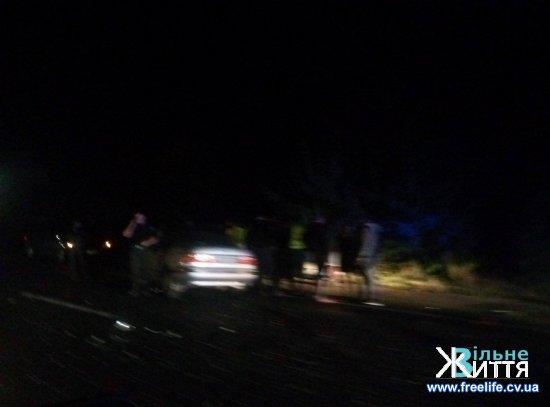 Ввечері біля Мамаївців сталася аварія