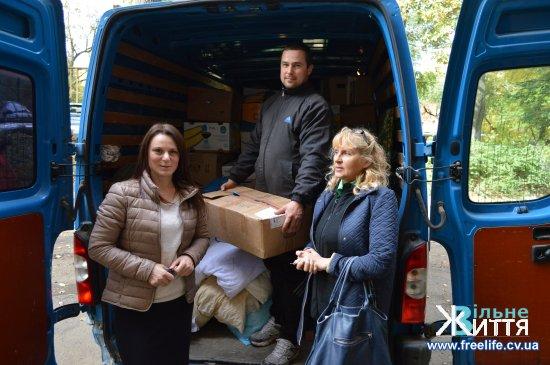 Благодійники допомагають Кіцманському терцентру