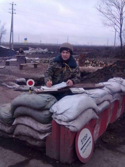 Атовець і активіст Василь Вирстюк з Кіцманя