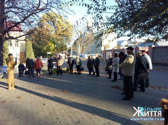 Надія Савченко в Кіцмані розповідала про необхідність проведення перепису населення