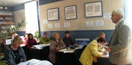 Перші вибори в ОТГ обговорили під час семінару-тренінгу (ВІДЕО)