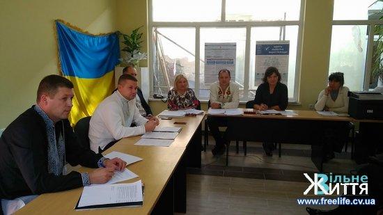Триває остання сесія Кіцманської міської ради сьомого скликання