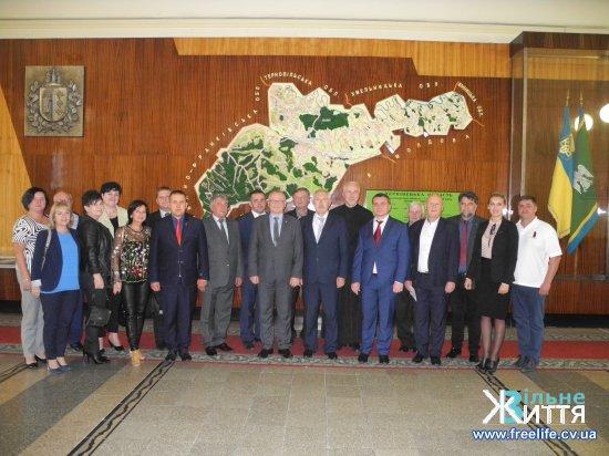 Делегація з Бєльского повіту Республіки Польща перебуває на Кіцманщині