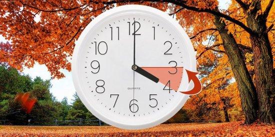 29 жовтня Україна переходить на зимовий час