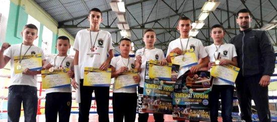 Кіцманські спортсмени повернулися з чемпіонату України з кікбоксингу