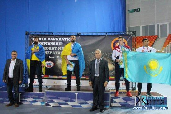 Юрій Чижевський з Малятинців — вчетверте чемпіон світу з панкратіону