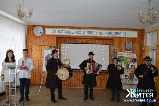 У Кіцманському ЗНЗ з нагоди 100-річчя вшанували пам'ять Михайла Івасюка