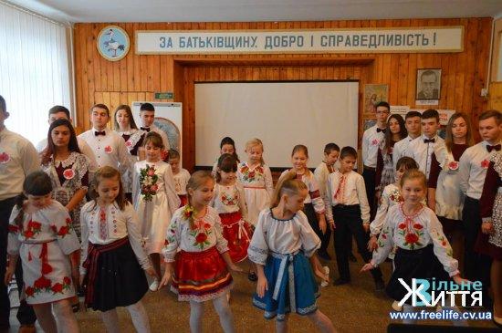 У Кіцманському ЗНЗ вшанували пам'ять Михайла Івасюка  з нагоди 100-річчя від дня його народження