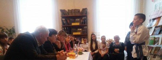 У Кіцманській районній дитячій бібліотеці провели захід до 100-річчя М.Г.Івасюка (ВІДЕО, ФОТО)