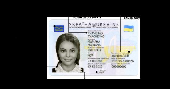 Перший паспорт громадянина України потрібно оформити у 14 років