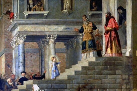 4 грудня — Введення в храм Пресвятої Богородиці