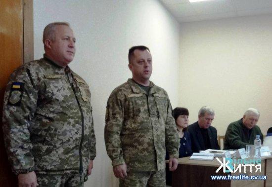 Військовим комісаром Кіцманського ОРВК признечено Олександра Товстого
