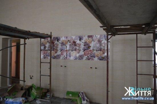 Ремонтні роботи у Кіцманській ЦРЛ наближаються до завершення