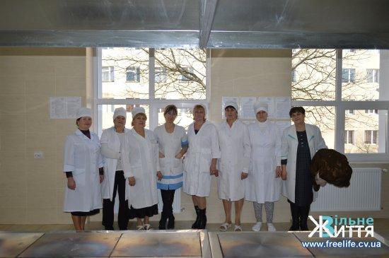 Завершено ремонт харчоблоку Кіцманської ЦРЛ, на черзі — хірургічне відділення