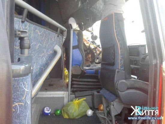 У Берегометі сталася ДТП за участі маршрутного автобуса