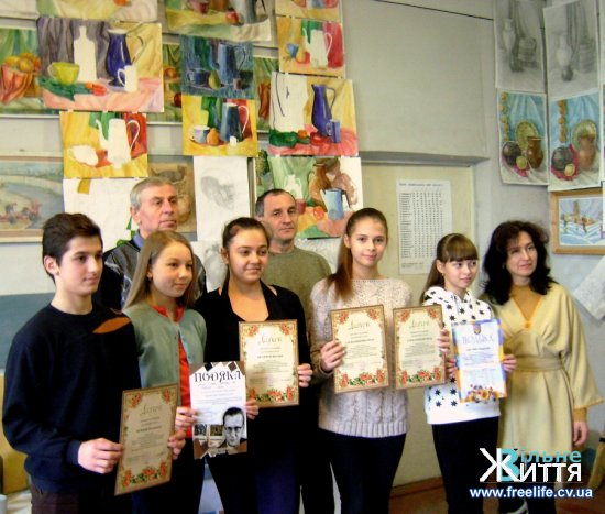 Юні митці Кіцманщини — перші в обласному конкурсі