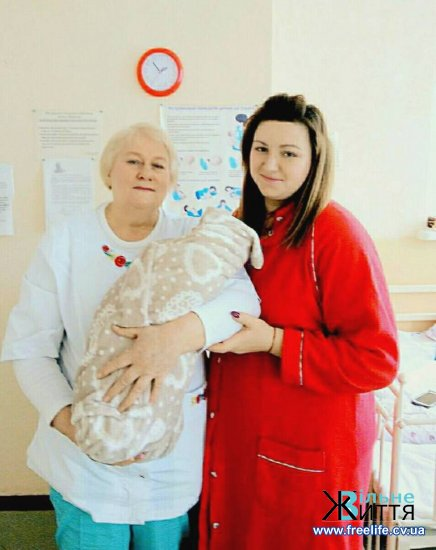 Першою у 2018 році в Кіцманській ЦРЛ народилася дівчинка