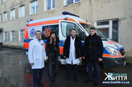 Кіцманщина отримала медичний автомобіль від Бєльського повіту