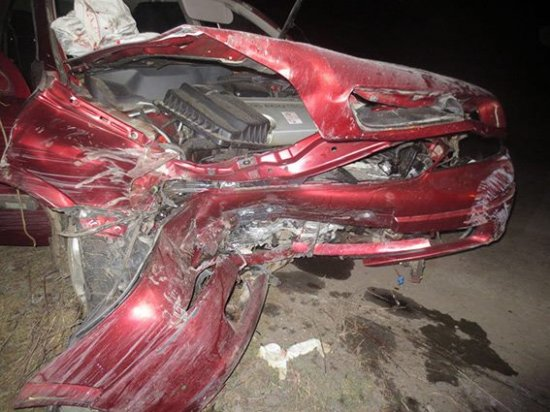 У Чорториї травмувалися водій та пасажири іномарки (фото та подробиці від поліції)